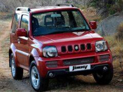 Suzuki выпустит пятидверную версию внедорожника Jimny