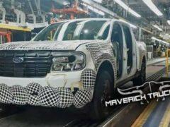 Ford запустил производство Ford Maverick 2022 года