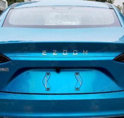 Renault Yi Ezoom, новый электромобиль