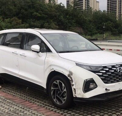 Hyundai Custo, новый, минивэн