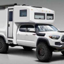 В США создали внедорожный кемпер на базе пикапа Toyota Tacoma