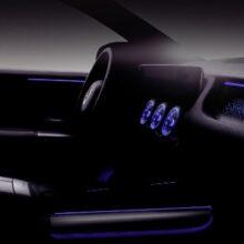 Mercedes-Benz представил салон электрического кроссовера EQA