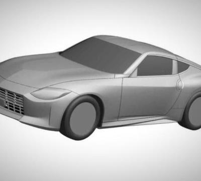 Nissan Z, патентное изображение