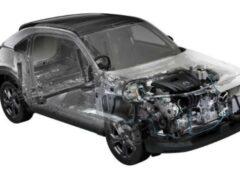Mazda удвоит запас хода электрокара MX-30 за счёт роторного двигателя