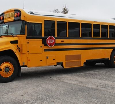 школьный автобус, США