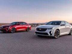 Cadillac объявил дату дебюта «заряженных» CT4-V и CT5-V Blackwing