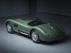 Jaguar возобновляет производство культового C-Type в современной версии