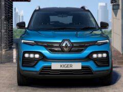 Новый кроссовер Renault Kiger появился в автосалонах Индии