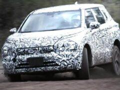 Запущен в производство кроссовер Mitsubishi Outlander новой генерации