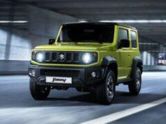 Спрос на Suzuki Jimny в России вырос в 3,8 раза по итогам января