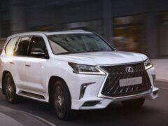 Lexus готовит к выпуску новый флагманский внедорожник