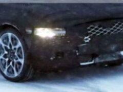Genesis G90 тестируют в зимних условиях