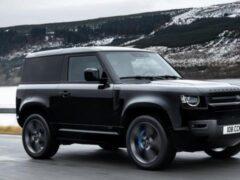 Land Rover Defender 2022 получил мотор V8 с мощностью 518 л.с.