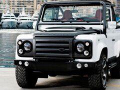 Ателье Overfinch построит для США 12 рестомодов Land Rover Defender