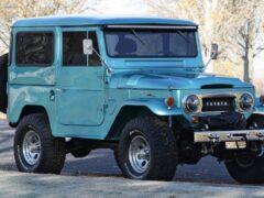 Toyota Land Cruiser 1965 года выпуска выставлен на продажу