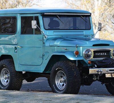 Toyota Land Cruiser 1965 года