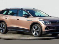 Volkswagen готовит к дебюту серийную версию большого кросса Talagon