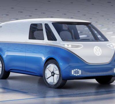 Volkswagen ID. BUZZ, беспилотник, электрокар