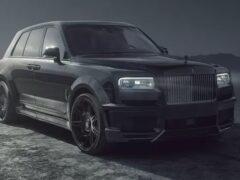 Rolls-Royce Cullinan Black Badge тюнеры Spofec сделали еще мощнее