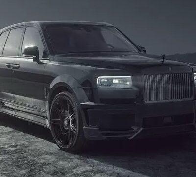 Rolls-Royce Cullinan Black Badge, тюнинг