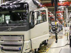 На заводе в Калуге начнут собирать электрогрузовики Volvo