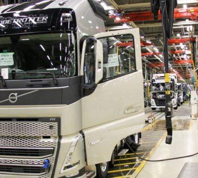 Volvo, грузовик