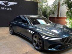 Genesis представил новое электрическое купе X Concept 2021 года