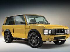 Chieftain анонсировал новый рестомод на базе Range Rover с турбомотором