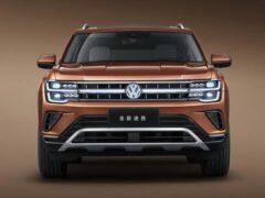 Volkswagen Teramont для Китая получил светящиеся логотипы