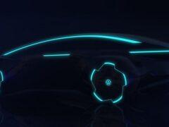 Появился официальный тизер электромобиля VW Project Trinity