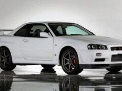 В Японии продают культовый Nissan Skyline GT-R R34 редкой спецсерии
