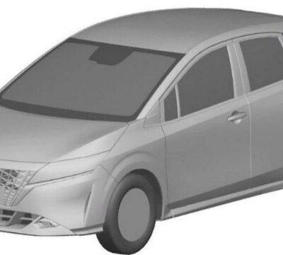 Nissan Note, компактвэн, патент