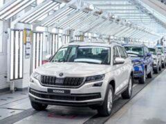 Компания Skoda выпустила 750-тысячный автомобиль в России