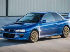 Редкий Subaru Impreza STi 1998 года купили за 24 млн рублей