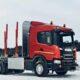 Scania представила первый в России сортиментовоз на метане