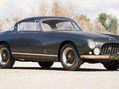 На аукцион выставят спорткар Ferrari, простоявший в гараже более 50 лет