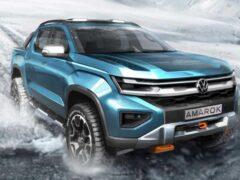 Volkswagen объявил о дебюте Multivan T7 и следующего Amarok