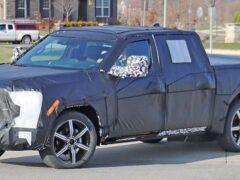 На тестах замечен пикап Toyota Tundra 2022 модельного года