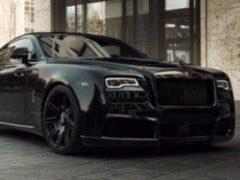 Ателье Spofec показало доработанный Rolls-Royce Wraith Black Badge
