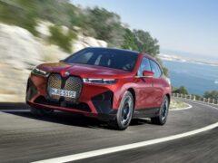 Новый электрический BMW iX M60 получит 560-сильную установку