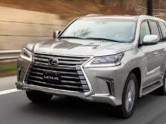 Новый внедорожник Lexus LX дебютирует во второй половине 2021 года