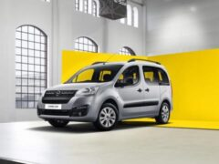 Opel начал продажи в России нового компактвэна Combo Life за 1,334 млн
