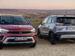 В России начались продажи обновленного кросса Opel Crossland