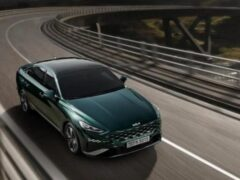 Kia выпустила новую гибридную версию спортивного седана K8