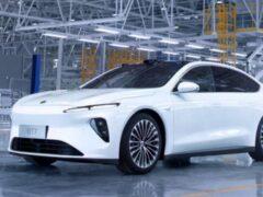 Компания Nio начала производство своего первого седана ET7