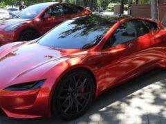Tesla изменит внешность Roadster перед запуском в серию