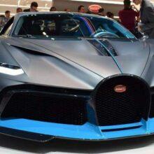 Серийная версия гиперкара Bugatti La Voiture Noire дебютирует 31 мая