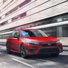 Honda назвала цены и комплектации обновленного седана Civic Si 2022