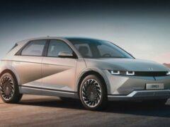 Первая партия нового электрокара Hyundai IONIQ 5 приехала в Норвегию