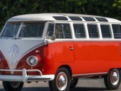 Volkswagen намерен возродить микроавтобус Samba с электродвигателем